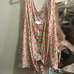 NWT Milau Flower Top from LF